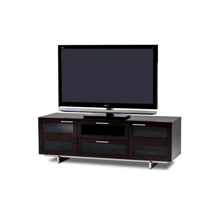 ... The BDI Avion Flat Panel Tv Media Cabinet In Espresso Oak Stain  Innovative Design For Full ...