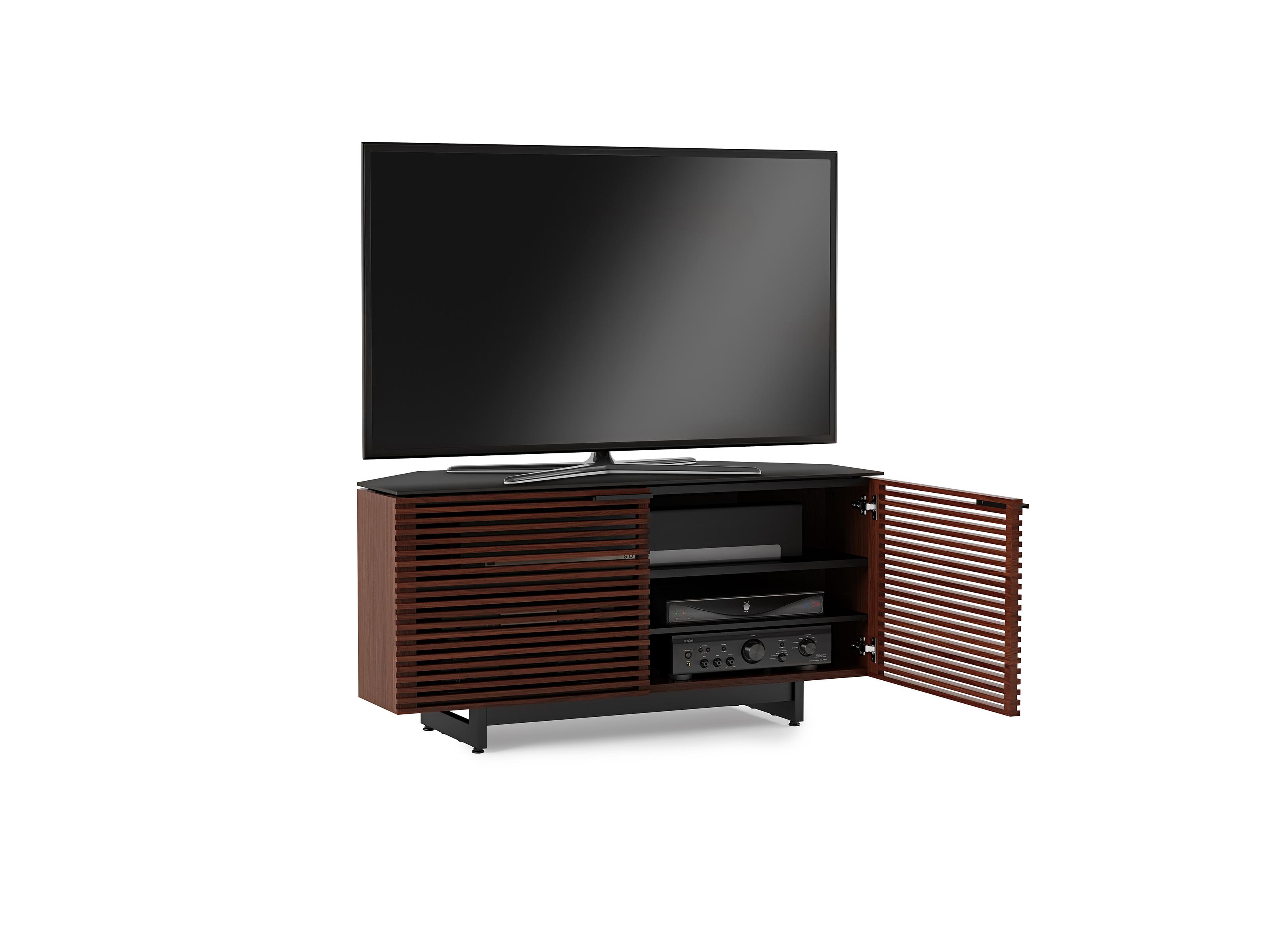 Corridor 8175 Corner Tv Stand Media Console Bdi Furniture