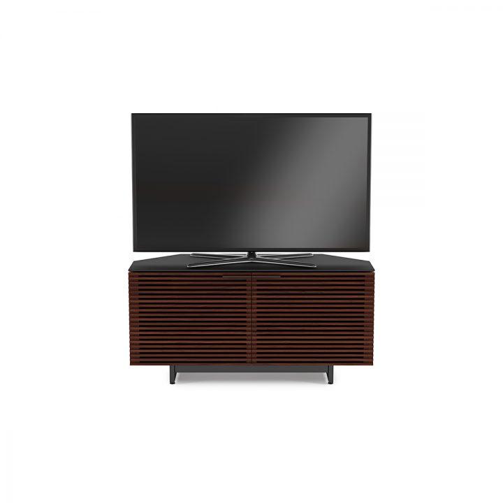 Corridor 8175 Corner Tv Stand Amp Media Cabinet Bdi Furniture