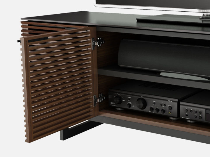 Dark Wood Tv Credenza : Best tv stands and consoles