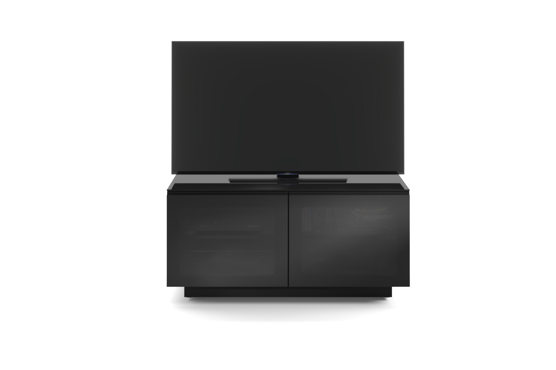 Mirage 8224 Black Media Cabinet Tv Stand Bdi Furniture
