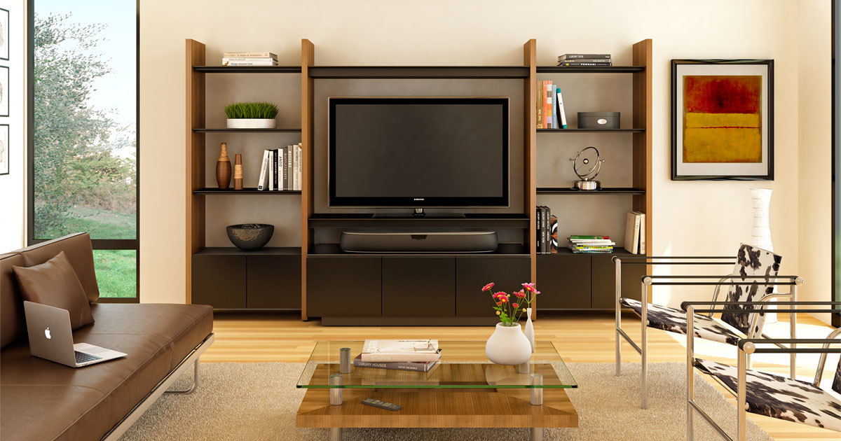 Modular Home Office Furniture Designs Ideas Plans: Modular Entertainment Wall Units, Shelving Units, And
