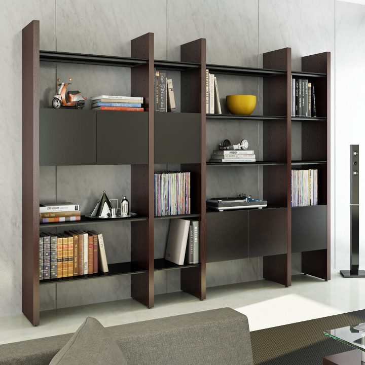 Modern Living Room Shelves, Shelving Units, and Bookcases ...
