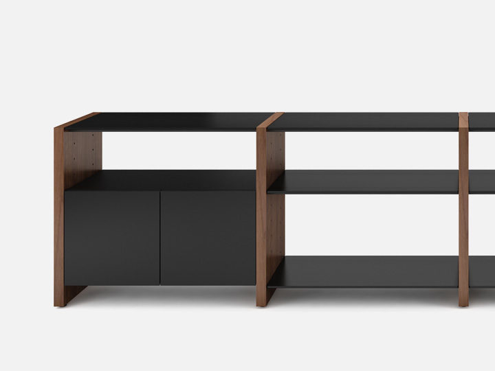 The Semblance Collection by BDI customizable storage furniture