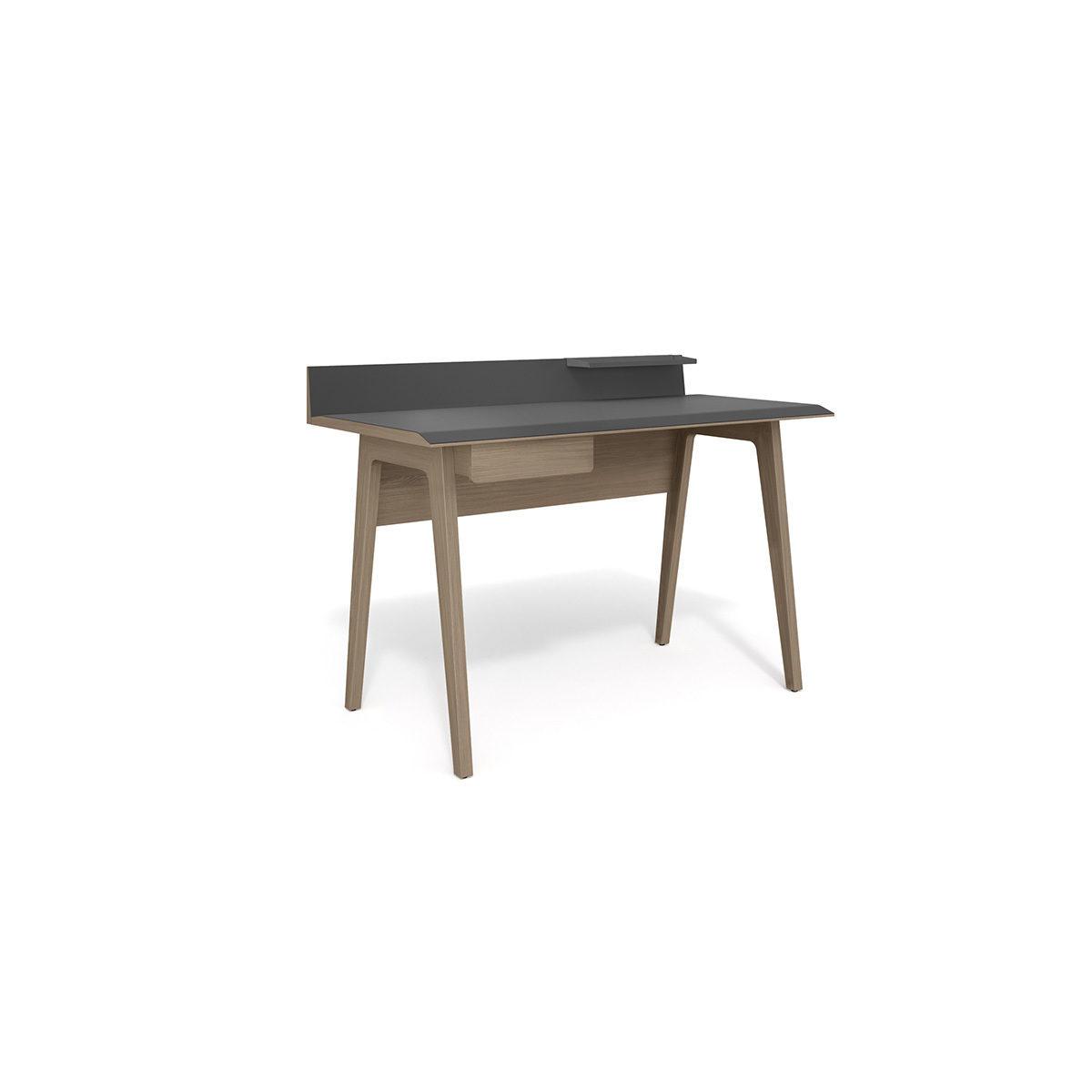 Bevel 6743 Modern Writing Computer Desk Bdi Furniture