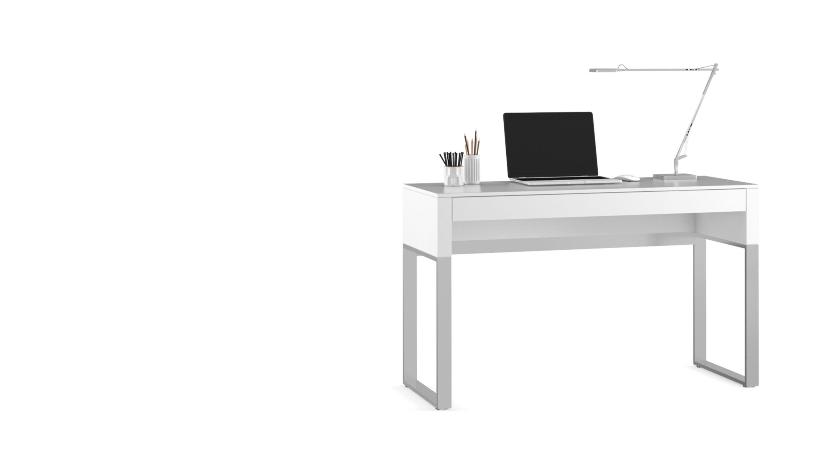 Cascadia 6202 Slim Console Laptop Desk Bdi Furniture
