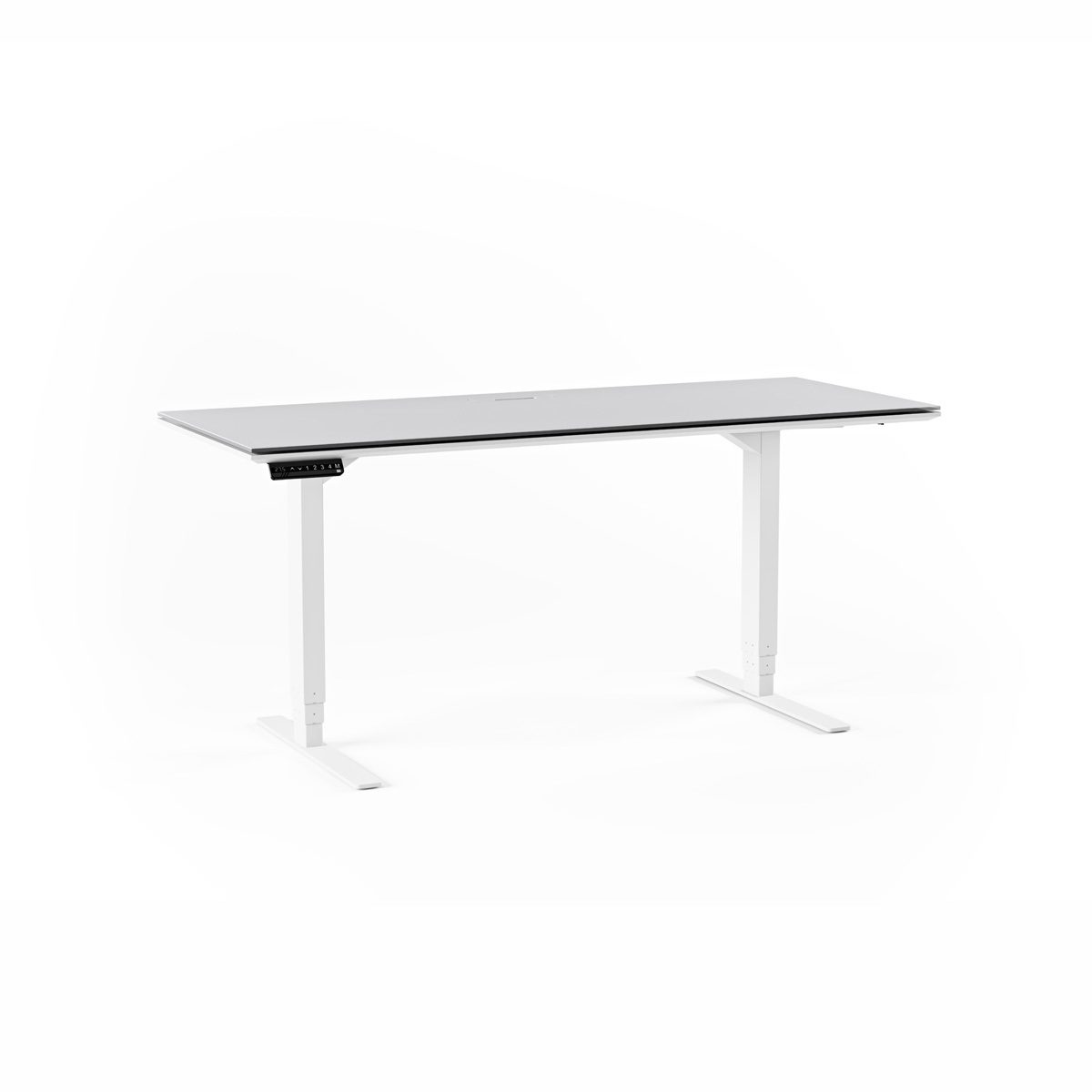 Centro 6451 Height Adjustable Standing Desk 60 X24 Bdi