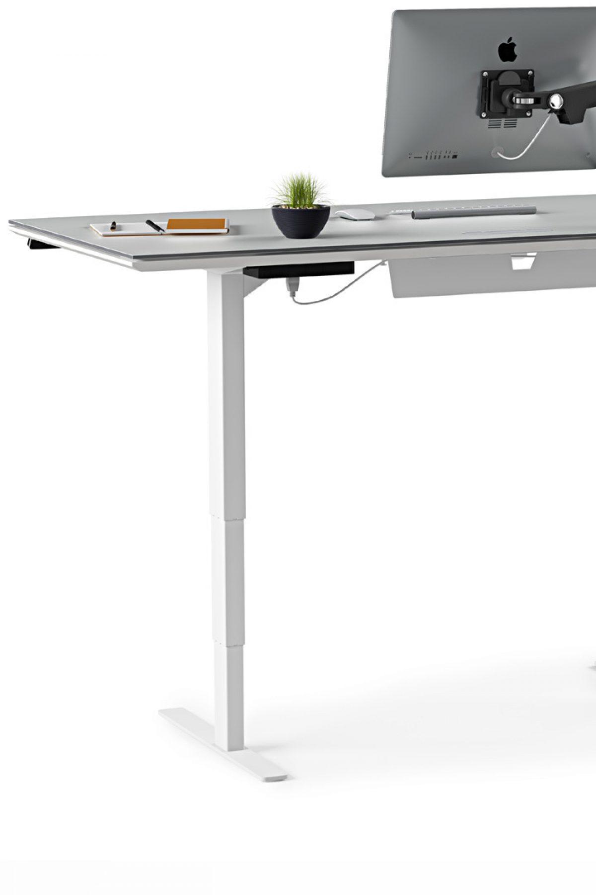 Centro 6452 Lift Standing Desk 66 Quot X30 Quot Bdi Furniture