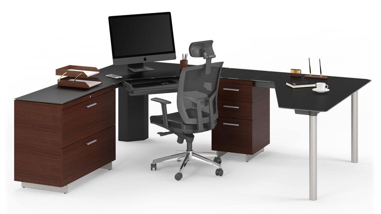 Sequel 6019 Corner Office Desk | BDI Furniture