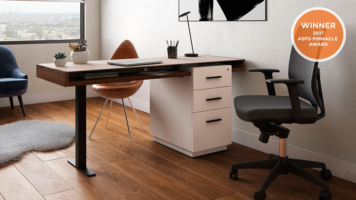 High Quality The Duo Office Collection By BDI Streamlined Design For Modern Home Office