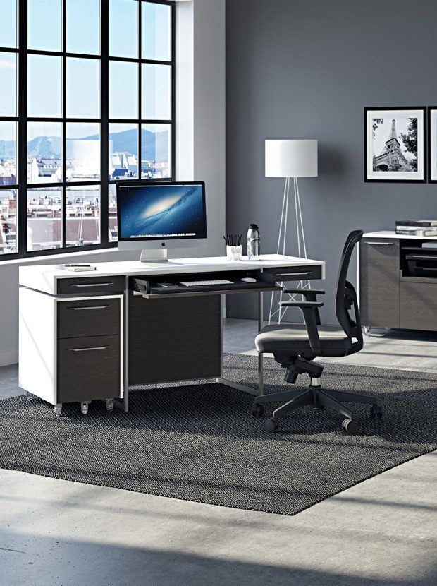 The Format Office Collection by BDI modern home office furniture