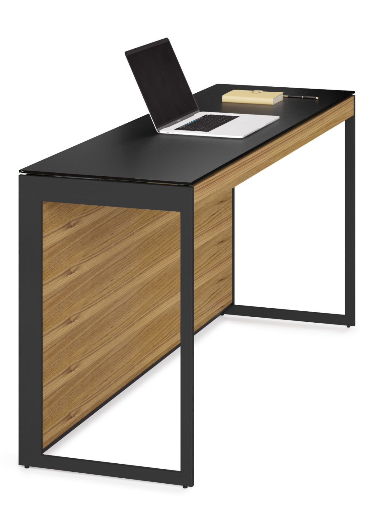 The narrow Sequel 6102 console by BDI furniture is the perfect home for a laptop computer or anyplace that available space is at a premium.