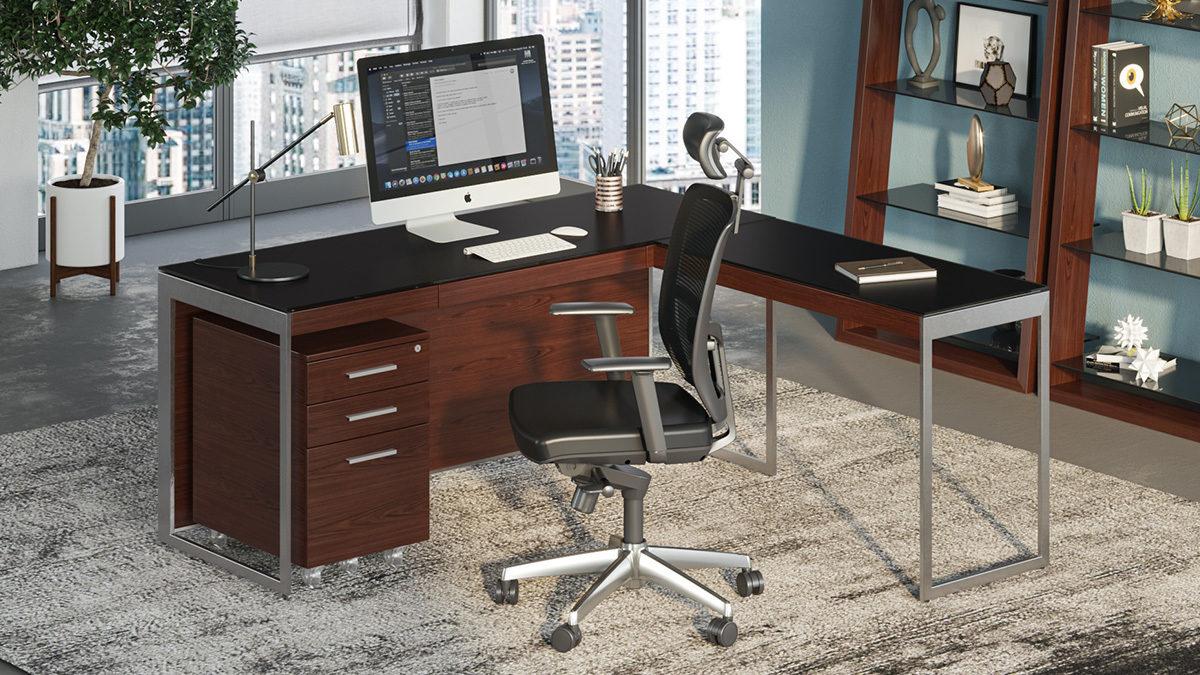 Modern Home Office Furniture  Desks, Storage, Shelving + More
