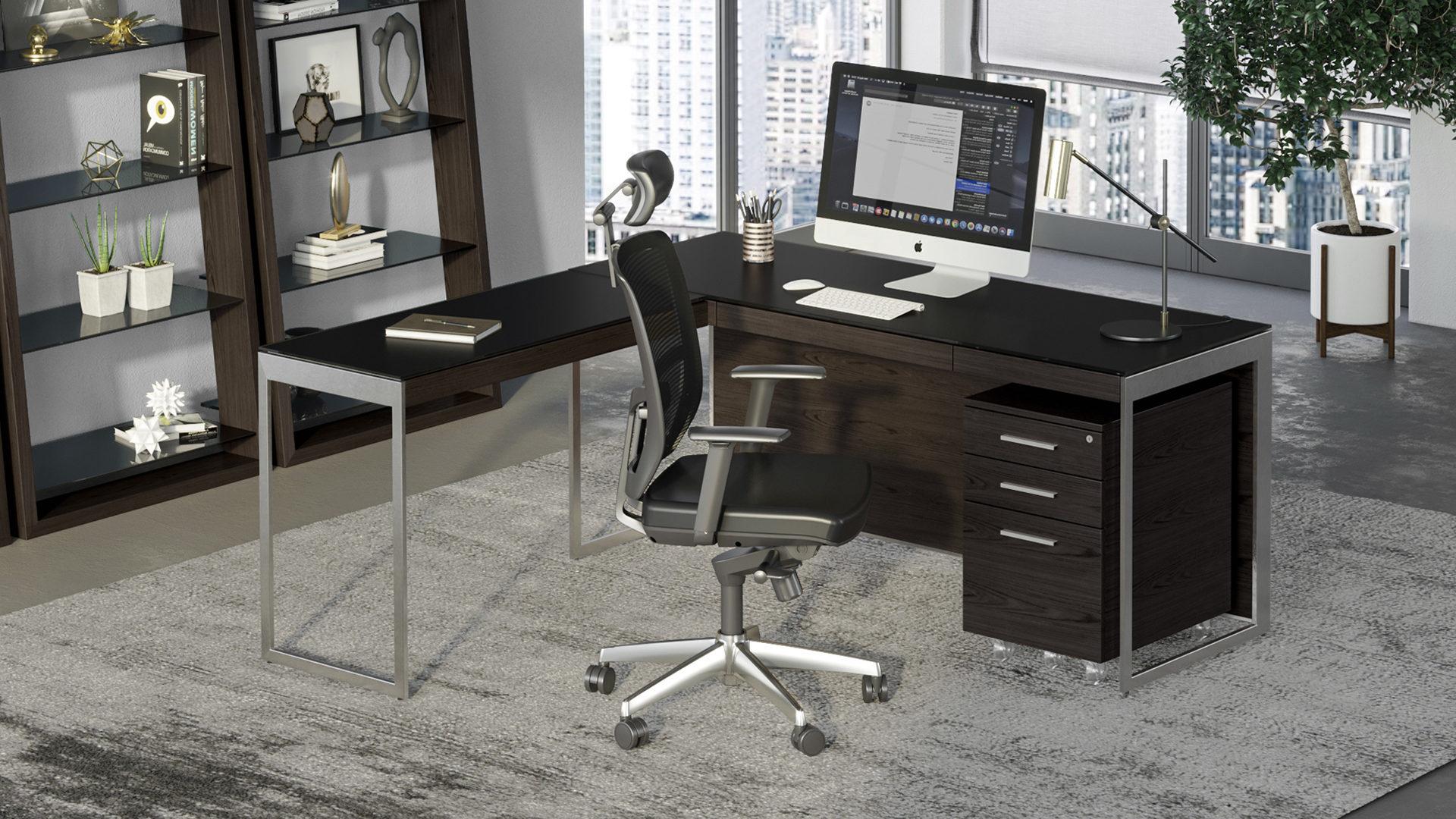 Modern Home Office Desks & Computer Desks  BDI Furniture