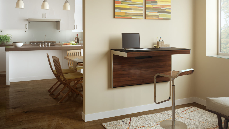 Sequel 6004 Modern Wall Mounted Desk Bdi Furniture