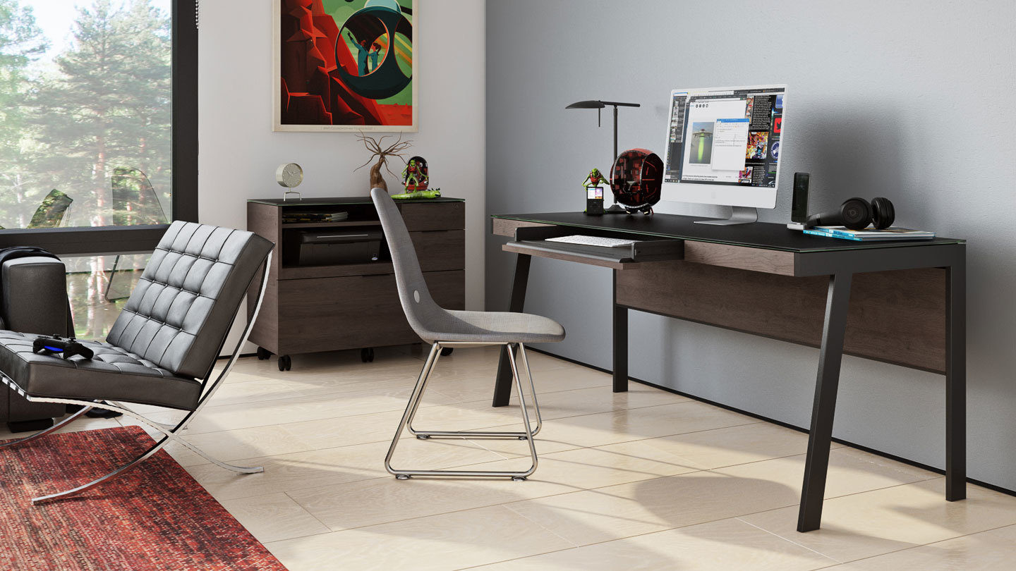 Sigma 6901 Modern Home Office Desk | BDI Furniture