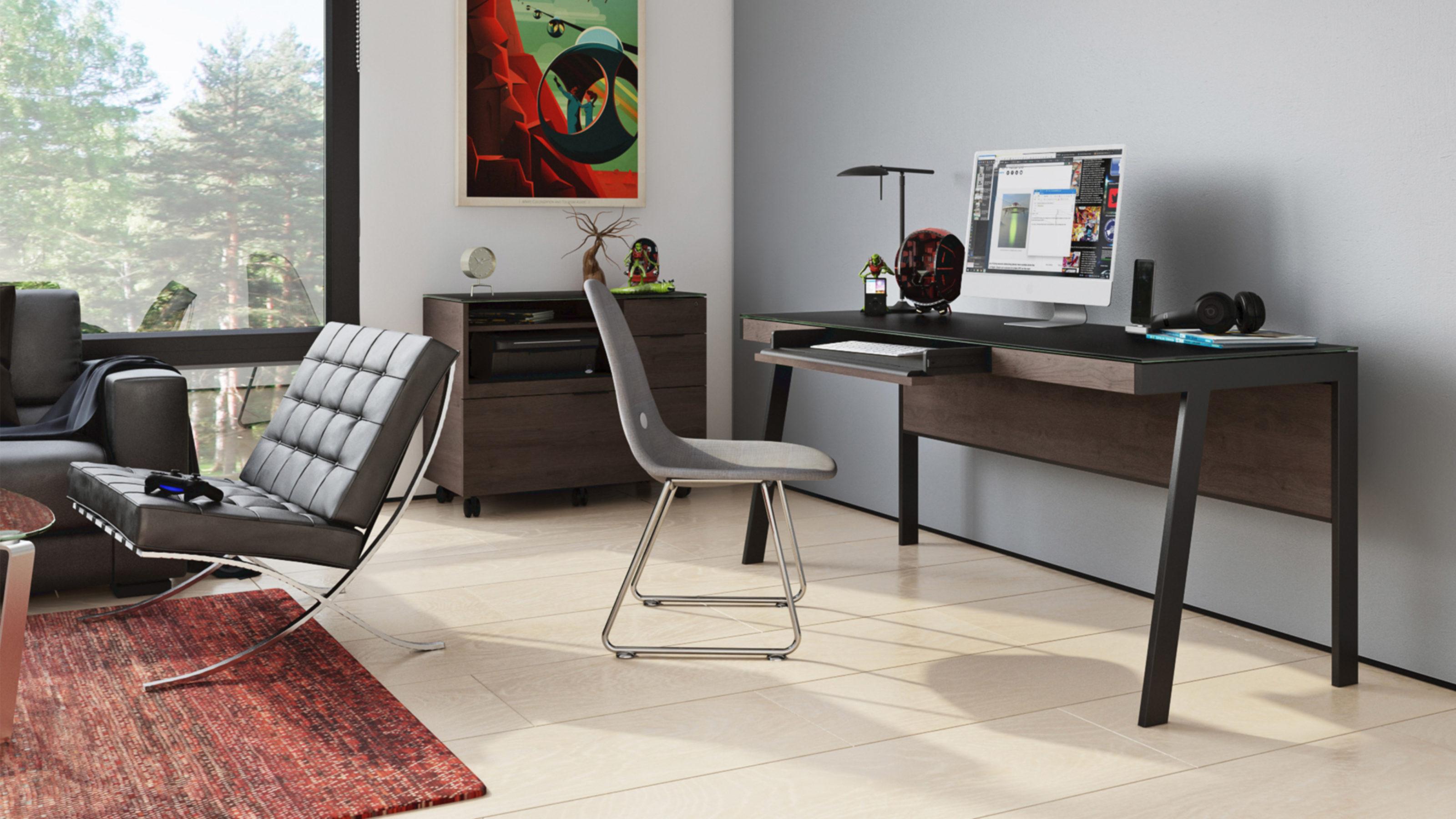 Sigma 40 Modern Home Office Desk  BDI Furniture