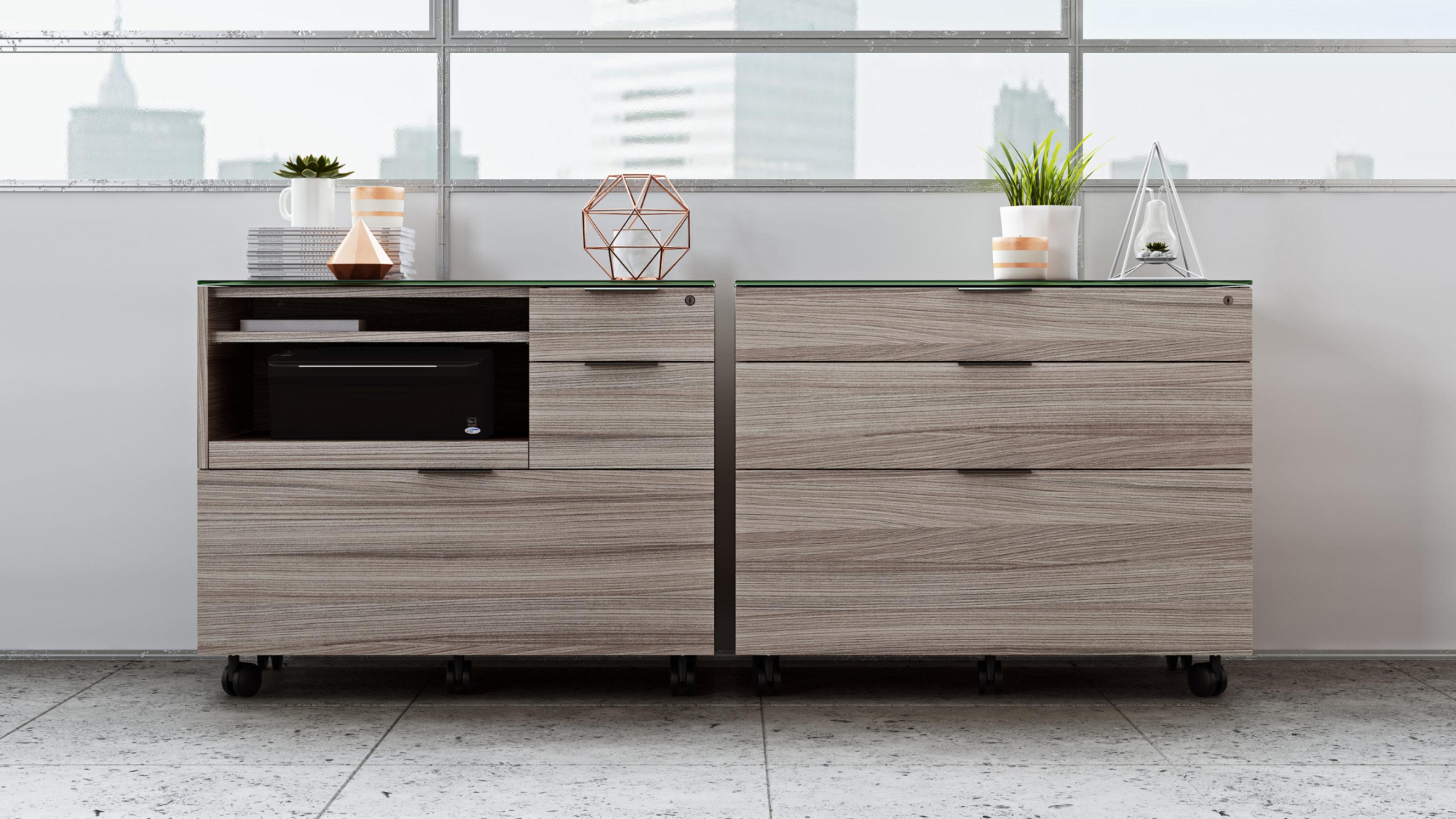 Sigma 45 Lateral File & Storage Cabinet  BDI Furniture