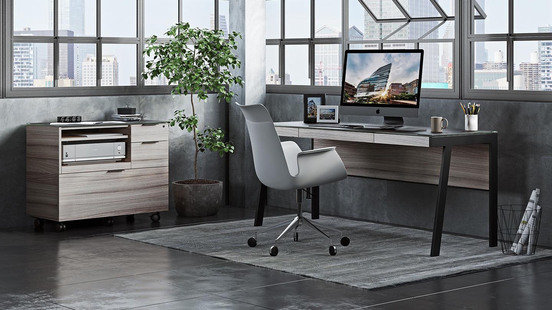 Sigma 6901 Modern Home Office Desk | BDI Furniture