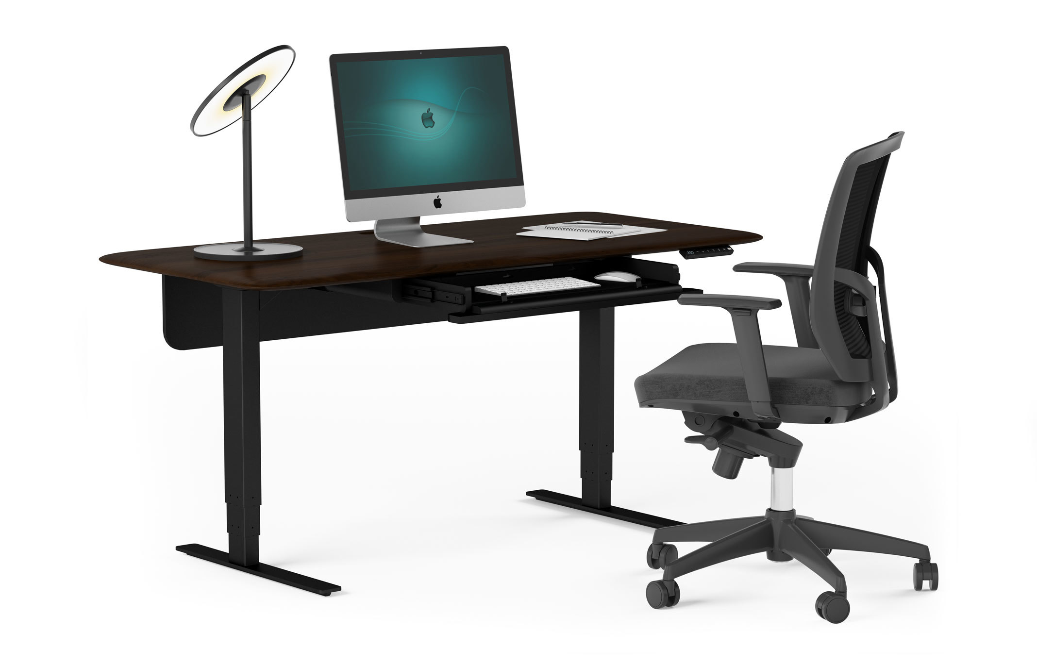 Why Standing Desks Should Be In Every >> Sola Lift Height Adjustable Standing Desk Bdi Furniture