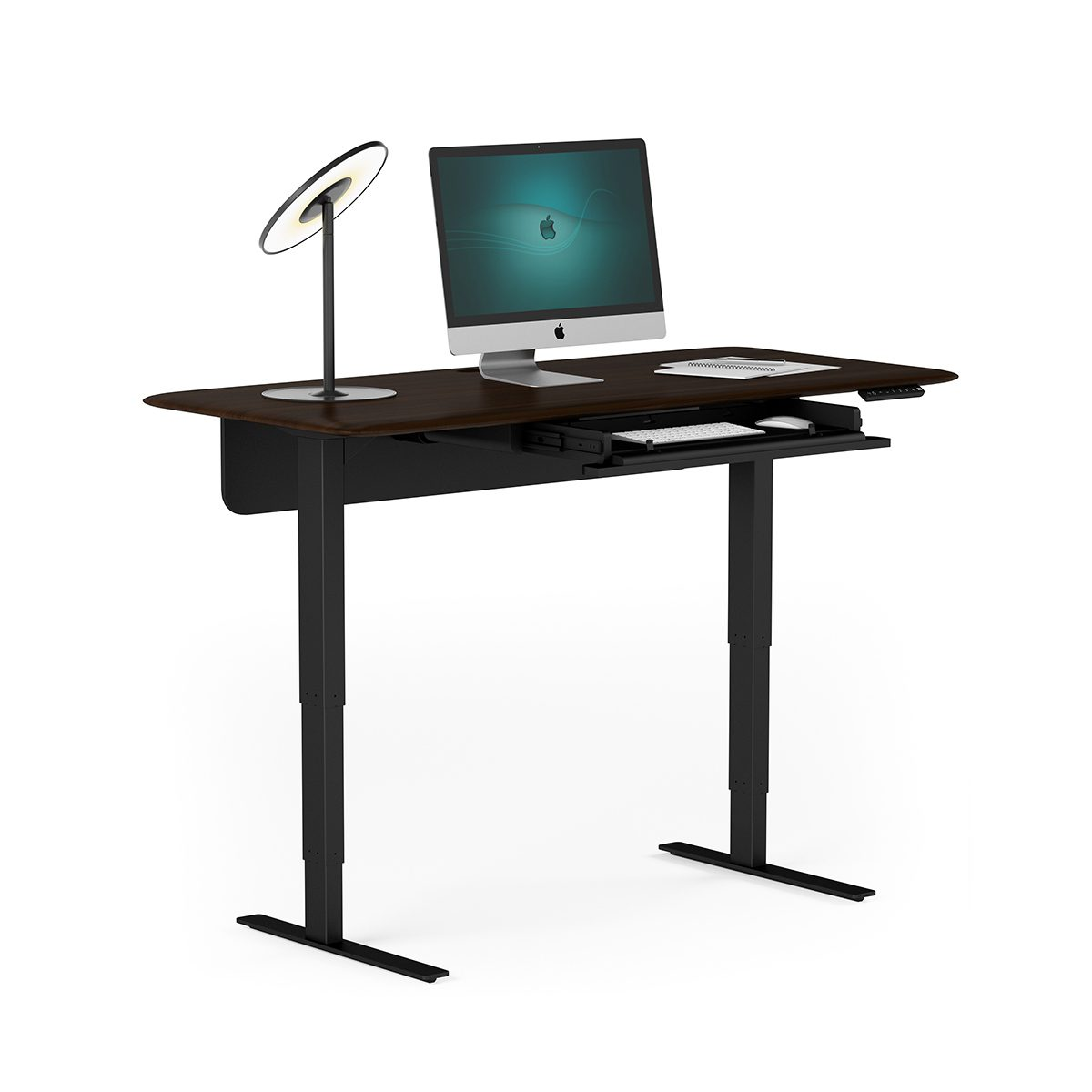 Sola lift height adjustable standing desk bdi furniture