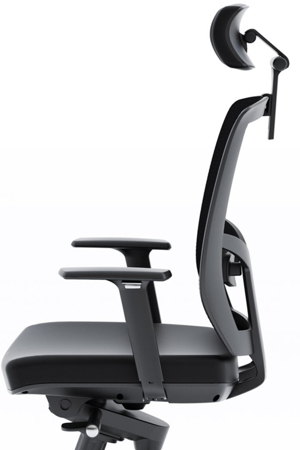 The fully adjustable leather Task Chair by BDI