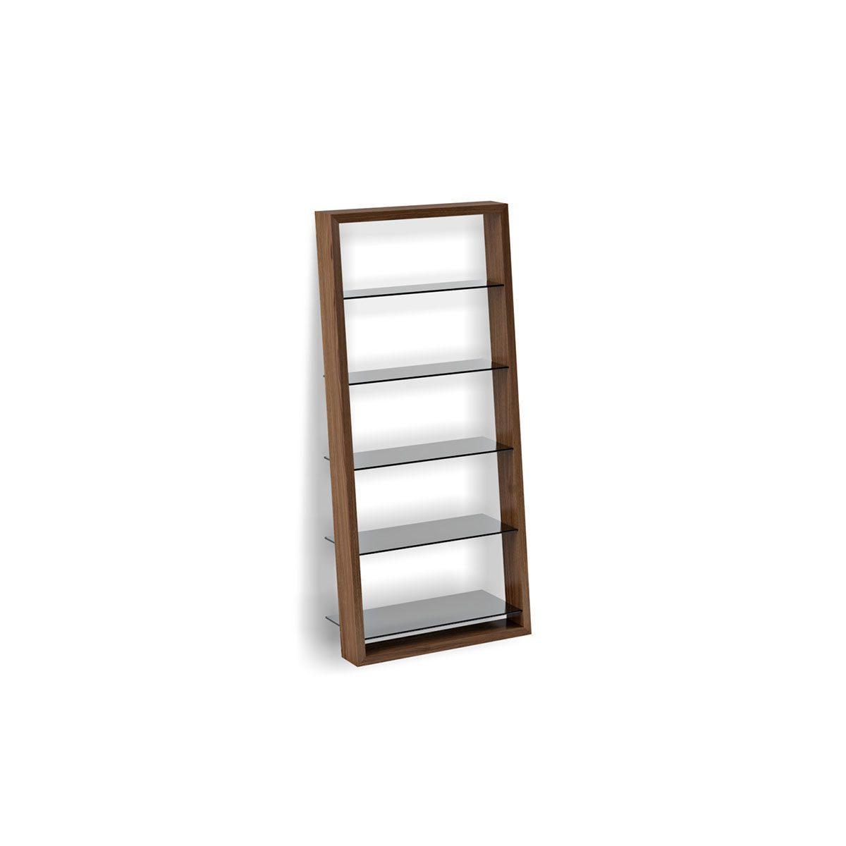 Eileen 5156 Modern Leaning Glass Shelf Bdi Furniture