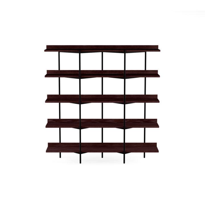 Incredible Kite 5305 5 Tier Shelves Shelving System Bdi Furniture Dailytribune Chair Design For Home Dailytribuneorg