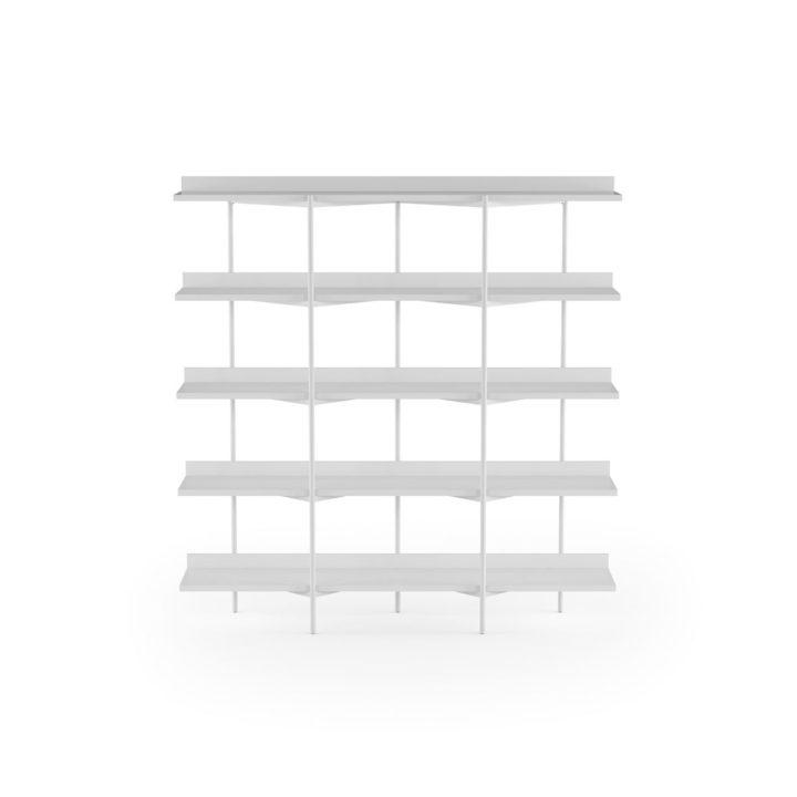 Miraculous Kite 5305 5 Tier Shelves Shelving System Bdi Furniture Dailytribune Chair Design For Home Dailytribuneorg