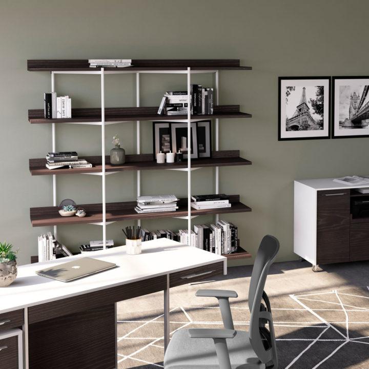 Pleasant Kite 5305 5 Tier Shelves Shelving System Bdi Furniture Dailytribune Chair Design For Home Dailytribuneorg
