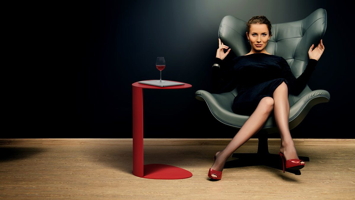 The Bink Collection by BDI modern convenient laptop table