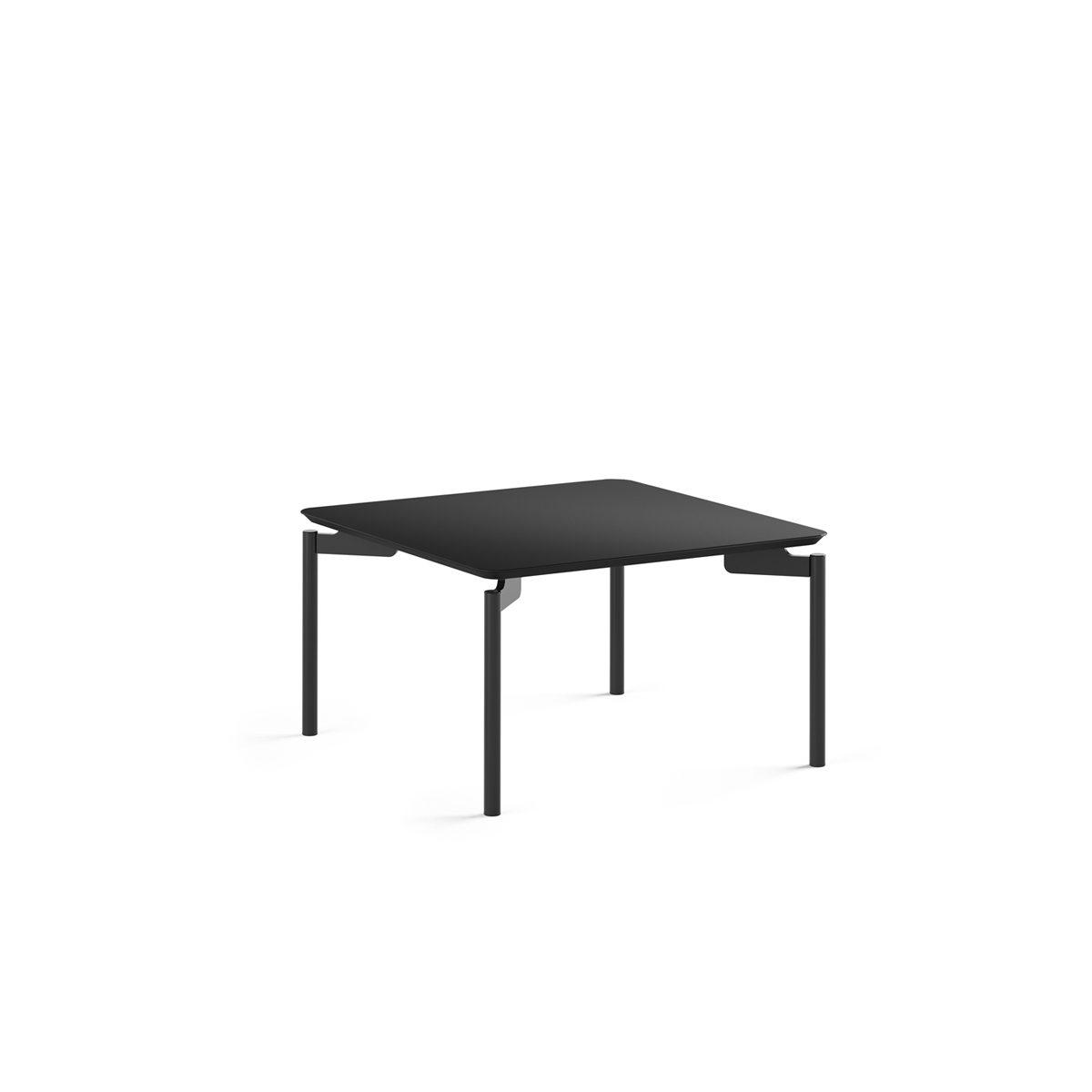 Mobile Coffee Table.Radius 1730 Square Nesting Coffee Table Bdi Furniture
