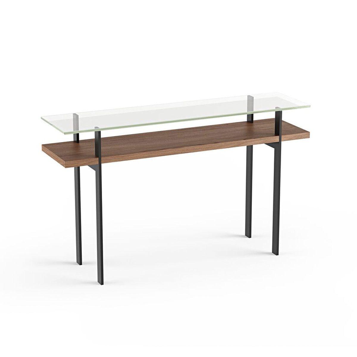 differently 1990b 1f5f4 Terrace 1153 Modern Slim Glass Console Table | BDI Furniture