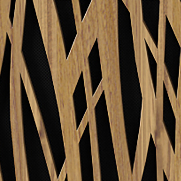 Wheat Doors / Natural Walnut