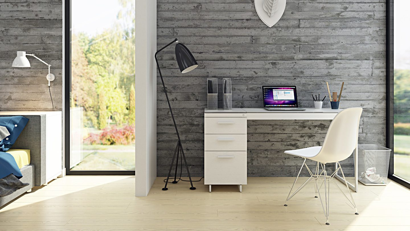 A Guide To Maximizing Small Home Office Spaces Bdi Furniture Blog