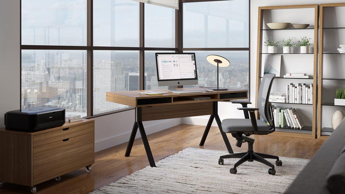 The BDI Modica Collection stylish unique design for full home office
