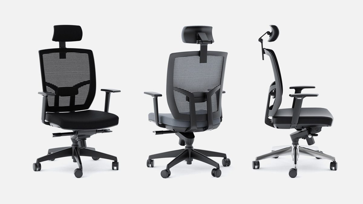 The Task Chair Collection by BDI for home office