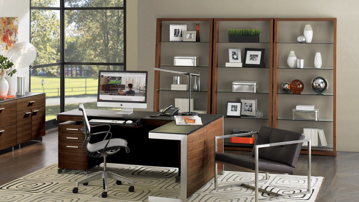 The Eileen Collection by BDI versatile storage with sturdy construction